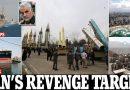 الحرس الثوري يهدد تل أبيب وأهداف أميركية حيوية في مرمى إيران