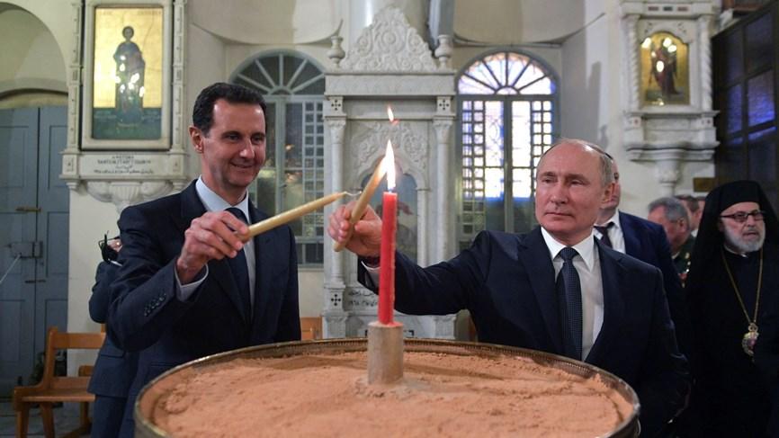 بوتين يقترح على الأسد دعوة ترامب إلى دمشق