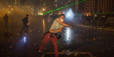 لبنان:العنف ضد المتظاهرين هل يجهاض الانتفاضة؟