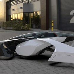"""""""أصغر مركبة طيران في العالم"""".سيارة كهربائية من تويوتا"""