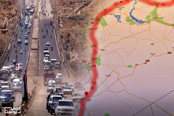 """الطريق الدولي """"إم 5"""" السبيل الأسرع للسيطرة على سوريا بالكامل؟"""