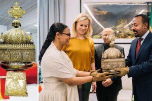 إثيوبيا تستعيد تاجاً ملكياً خبّأه لاجئ في هولندا