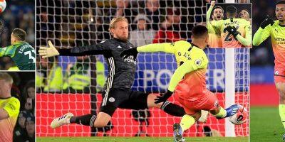 جيسوس ينقذ مانشستر سيتي من فخ ليستر وليلة سوداء جديدة لريال مدريد بالخسارة امام ليفانتي