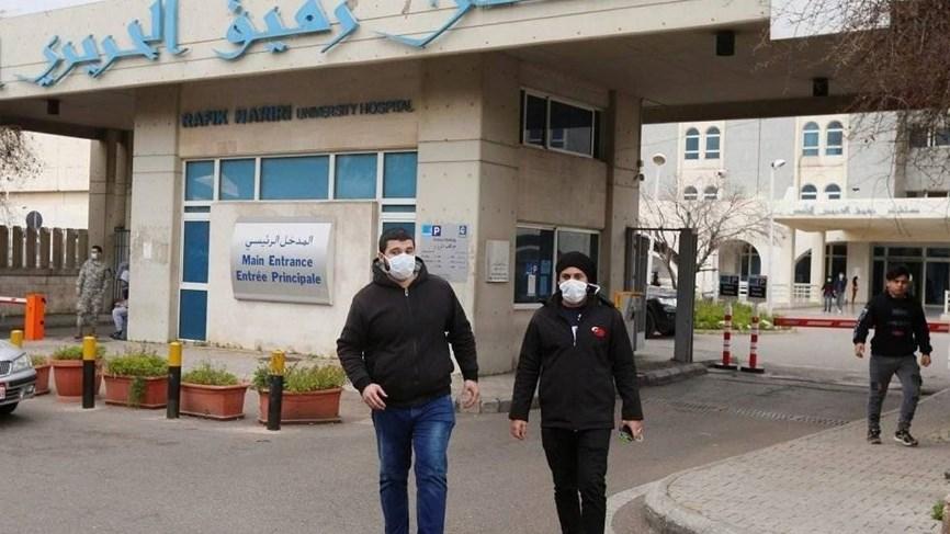 """أول حالة وفاة بفيروس """"كورونا"""" في لبنان"""