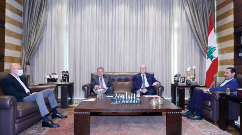 """لبنان:""""شدّ حبال"""" قبل خميس الإنقاذ ورؤساء حكومات لبنان السابقون يقاطعون «لقاء بعبدا»"""