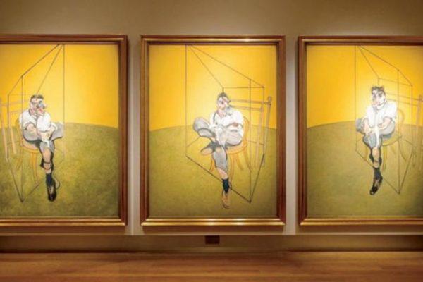 لوحة ثلاثية للرسام فرنسيس بيكون بـ85 مليون دولار