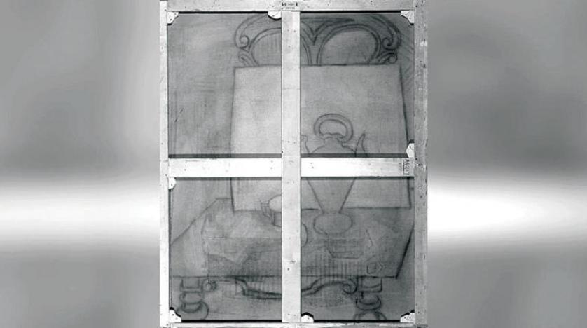 رسم سرّي لبيكاسو مُخبّأ خلف لوحة فنية شهيرة