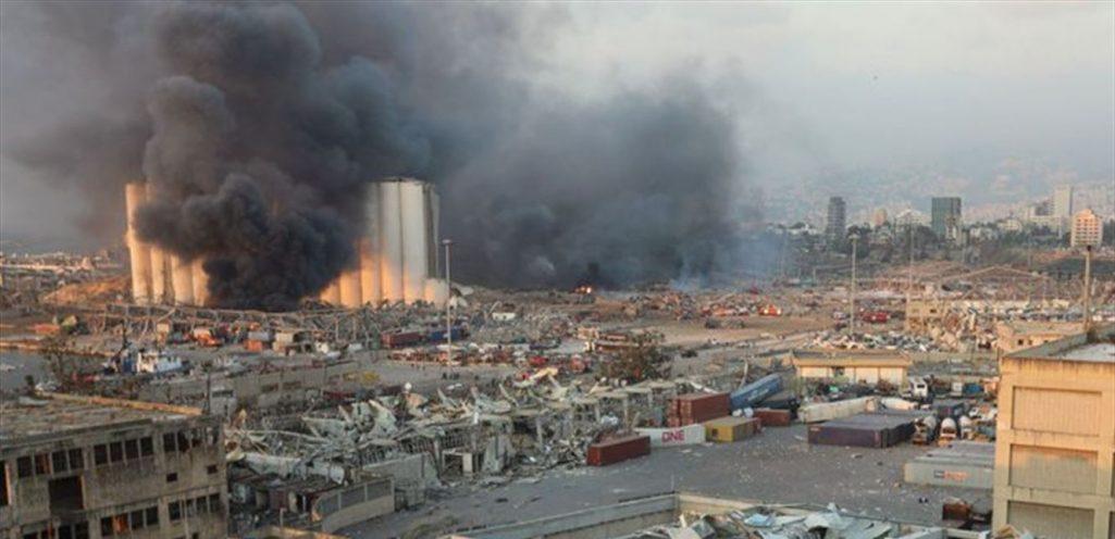 لبنان:تفاصيل كاملة لإنفجار المرفأ الضخم بعد صفعةٌ من ناصيف حتّي