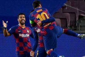 برشلونة يضرب موعداً نارياً مع البايرن في ربع النهائي بعد تخطيه عقبة نابولي بتجديد فوزه على تشيلسي  برباعية