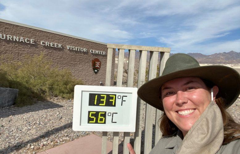 أعلى درجة حرارة بالأرض خلال أكثر من 100 عام في وادي الموت