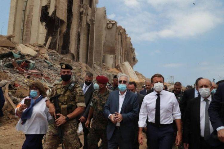 ماكرون يتوجه لبلاد الانهيار والهاوية للضغط على الساسة اللبنانيين