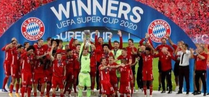 البايرن بطل السوبر الاوروبي، تأهل ليفربول ومانشستر سيتي في كاس كاراباو وغودين يوقع لكالياري