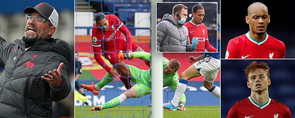 ليفربول بلا غطاء دفاعي لاصابة فان دايك  وخسارة برشلونة وريال مدريد، ميلان يهزم الانتر، تعادل يوفنتوس ورباعية لمانشستر يونايتد