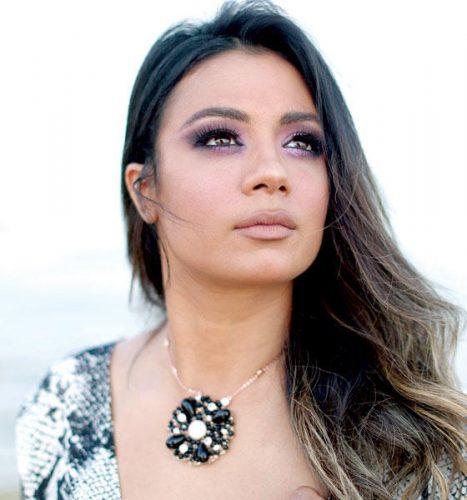 الممثلة التونسية سارة حناشي ت في مهرجان الجونة السينمائي