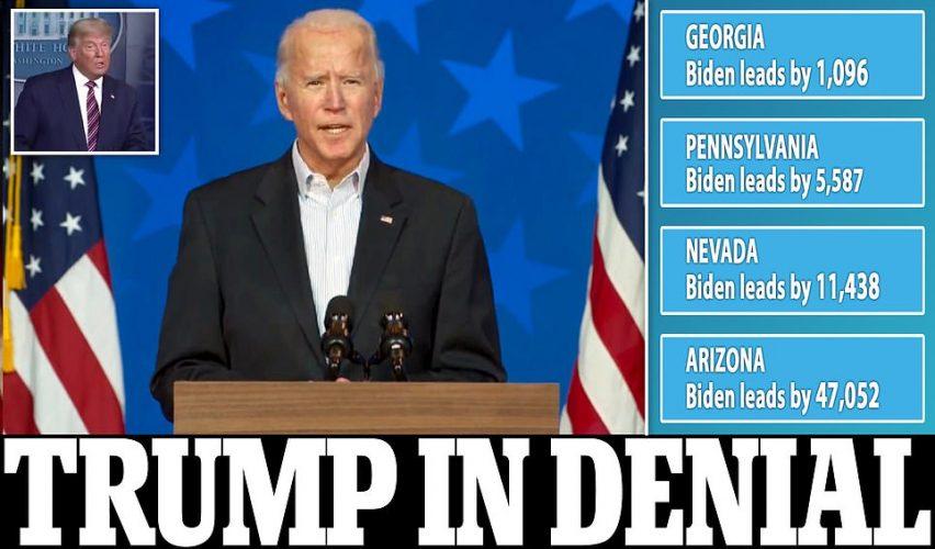 صحف اليوم:بايدن على أعتاب البيت الأبيض بتقدم طفيف في جورجيا وبنسلفانيا وعلى بعد ساعات من الفوز