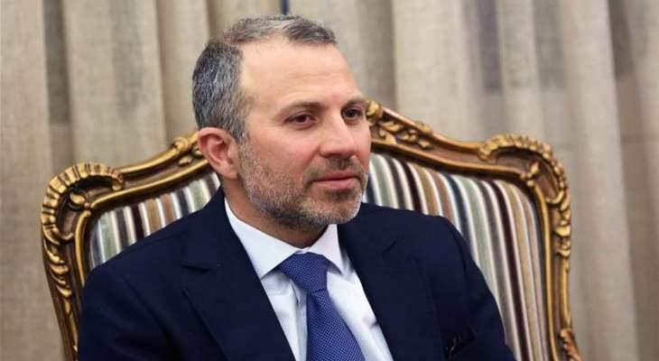 """""""هيلا أميركية"""" !باسيل ساهم في نظام الفساد السائد والمحسوبية السياسية في لبنان"""