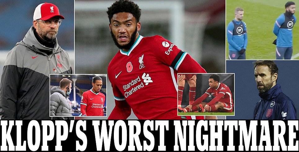 كابوس وأزمة دفاعية في ليفربول,أنباء عن اصابة ميسي، عودة المباريات الدولية