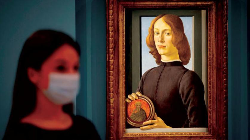 لوحة لبوتيتشيلي بـ80 مليون دولار تحرّك سوقاً للأعمال الفنيه