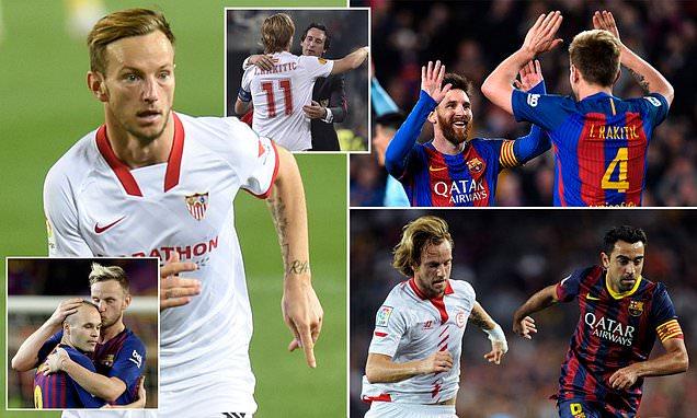 مواجهة حاسمة بين برشلونة واشبيلية ورباعية للسيتي ودورتموند لنصف نهائي كأس المانيا،وثلاثية ليوفنتوس