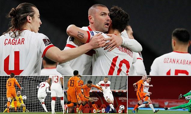 تصفيات كأس العالم 2022:تركيا تقهر هولندا برباعية وتعادل مخيب لفرنسا امام اوكرانيا وفوز بلجيكا والبرتغال