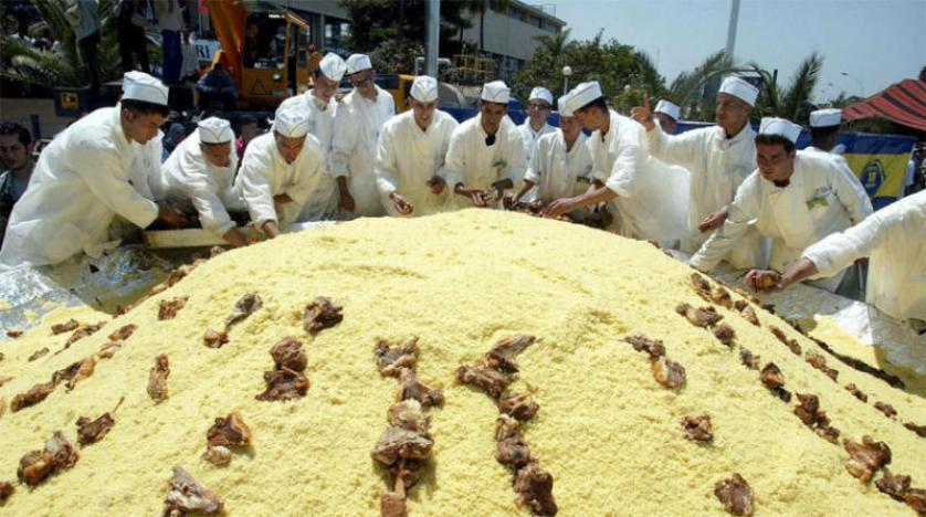 ليبيا تصنع أكبر طبق كسكسي للدخول في موسوعة «غينيس»