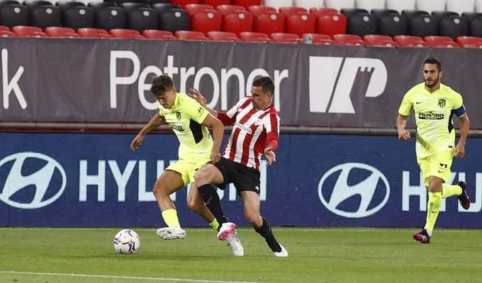 اتلتيكو مدريد يخسر امام بلباو وصراع الليغا يشتعل والستي يفوز بلقب كأس الرابطة