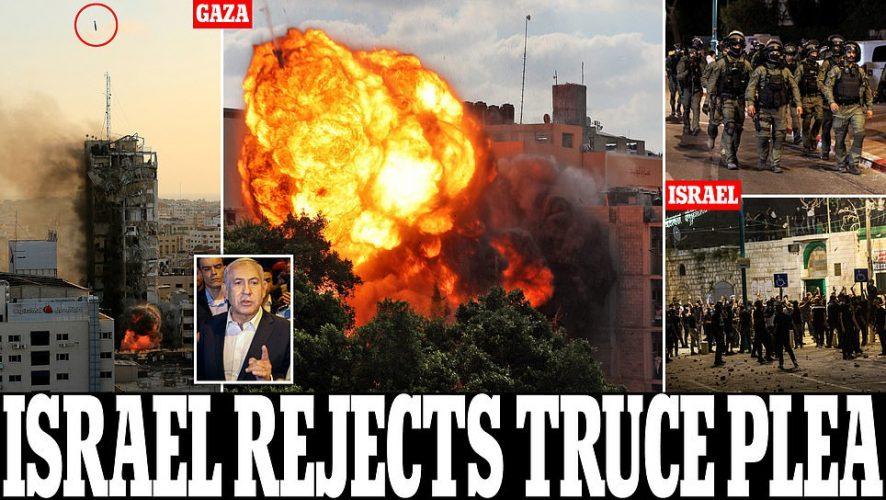 """عملية """"سيف القدس"""" في غزة و """"حارس الأسوار"""" في إسرائيل تزدادان عنفا فهل تقف المنطقة على حافة حرب إقليمية؟"""