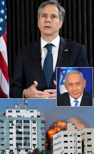 صحف:بلينكن يكذب نتنياهو ويحمل إسرائيل المسؤولية,إسرائيل ترتكب الخطأ الذي ارتكبته بريطانيا