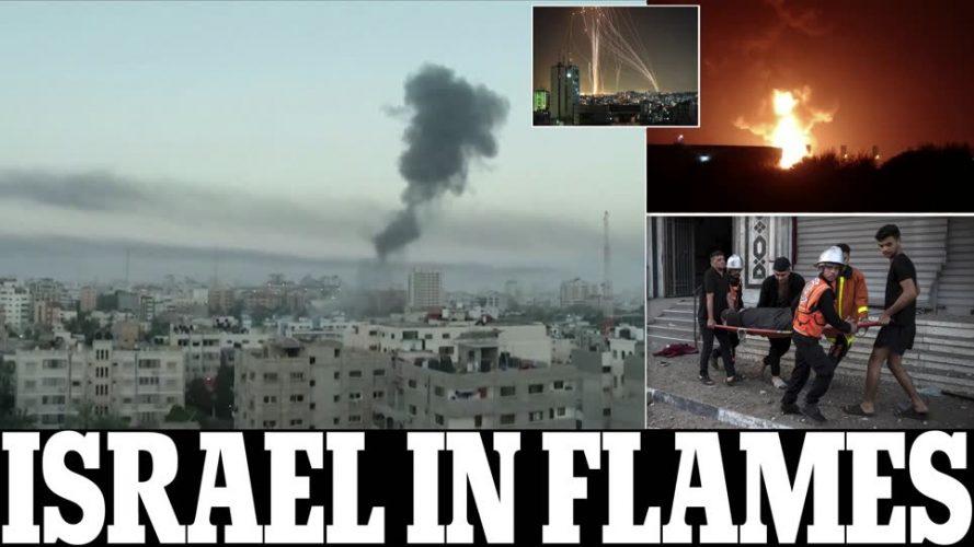 صحف:غزة تطلق أكثر من 1000 صاروخ باتجاه مناطق إسرائيلية من تل أبيب حتى بئر السبع وإسرائيل تقصف 500 هدف في القطاع وسط تحذيرات من حرب واسعة