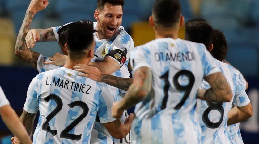 بهدف وتمريرتين حاسمتين... ميسي يقود الأرجنتين لنصف نهائي «كوبا أميركا»انكلترا الى نصف نهائي اليورو، وراموس يرفض اليونايتد
