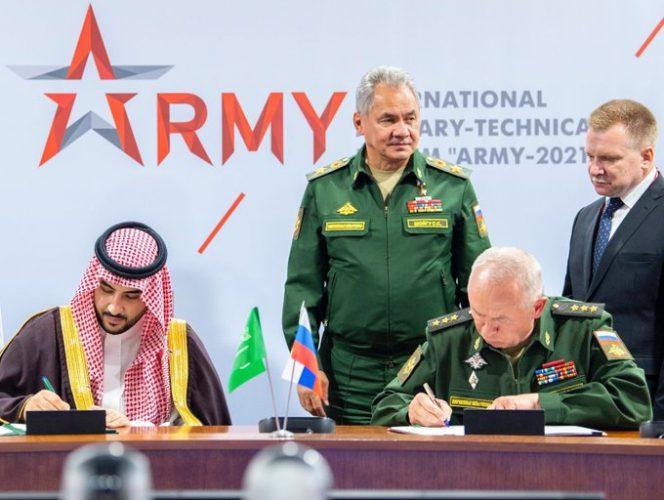صحف: السعودية توقع اتفاقية للتعاون العسكري مع روسيا، ووفاة الرئيس التشادي السابق حسين حبري