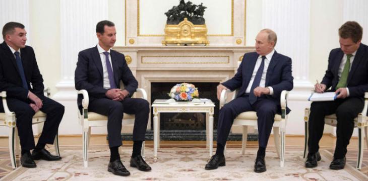 بوتين ينسق مع الأسد عشية حوار روسيا وأميركا