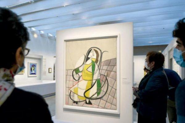 الذكاء الصناعي يعيد رسم لوحة مطموسة لبيكاسو