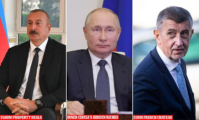 """من بينهم العاهل الأردني والرئيس بوتين.. تسريبات """"باندورا"""" تكشف عن ثروات سرية هائلة لقادة عالميين في ملاذات ضريبية"""