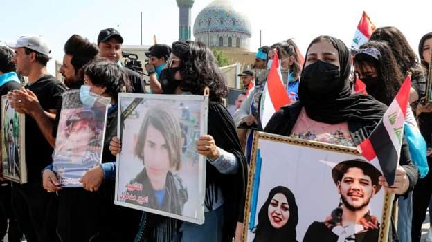 آخر الأخبار وأحدث الموضوعات:عراقيون يحيون ذكرى انطلاق مظاهرات تشرين، ومصر تتسلم