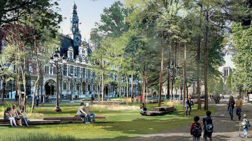 أول «غابة حضرية» في باريس بحلول 2024