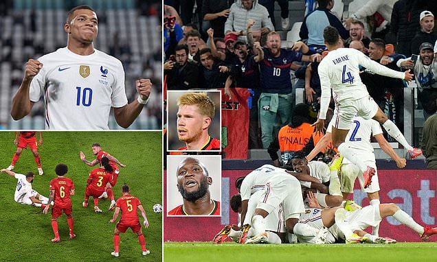 فرنسا تقصي بلجيكا لتواجه اسبانيا في النهائي