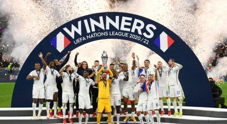 فرنسا بطلة الأمم الأوروبية،وإيطاليا ثالثا و ثلاثية للأرجنتين، تعثر البرازيل والسعودي الاولمبي لنهائي غرب اسيا