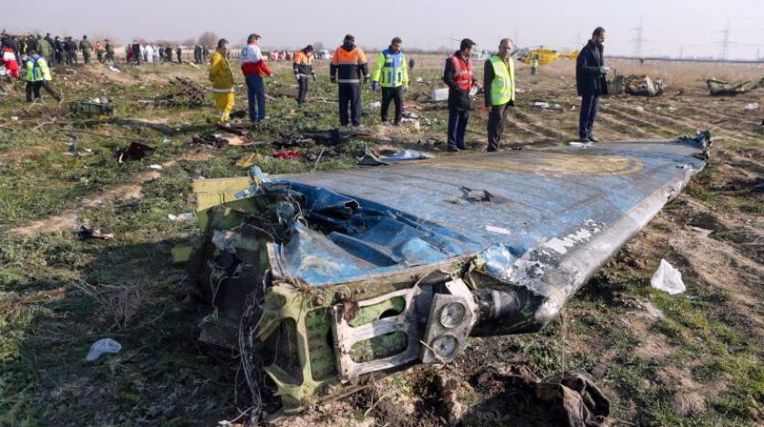 أميركا ستشارك بالتحقيق في تحطم الطائرة الأوكرانية وفيديو يُظهر لحظة إصابتها بصاروخ
