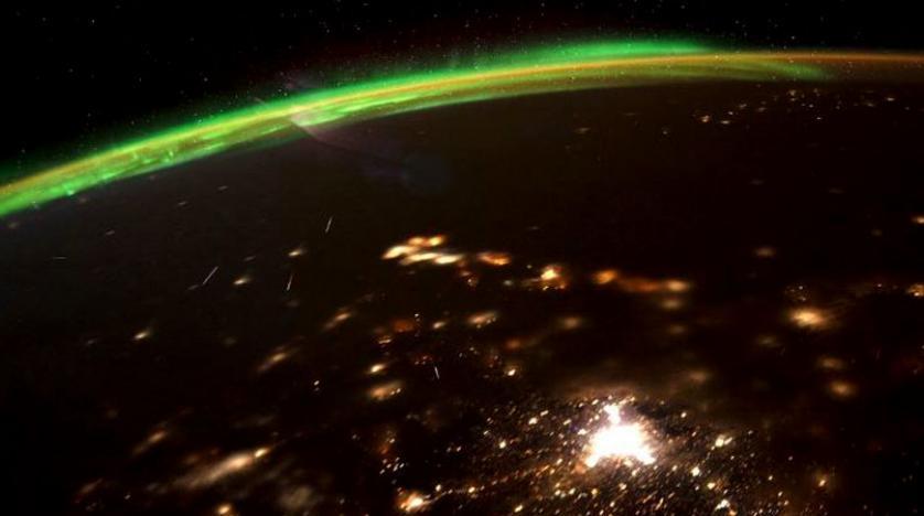 رائدة فضاء أميركية ترسل أول صور لانفجار النيازك