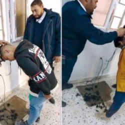 حلاقة على {الصفر} وفلقة اكرامية للمعروفين«المتسكّعين» أمام مدارس الفتيات في ليبيا