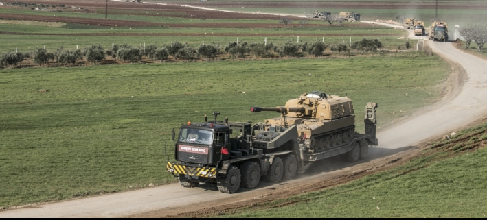 مقاتلات روسية دمرت دبابة و6 مدرعات و5 عربات في إدلب وانفجار عبوة داخل سيارة  في منطقة المرجة بدمشق