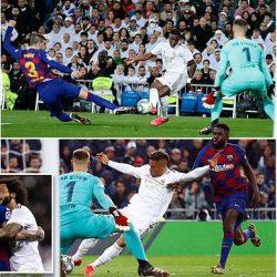 الريال يطيح ببرشلونة في الكلاسيكو  ويتصدر الليغا والسيتي يحقق كاس كاراباو، وولفرهامبتون يفوز على توتنهام 3-2