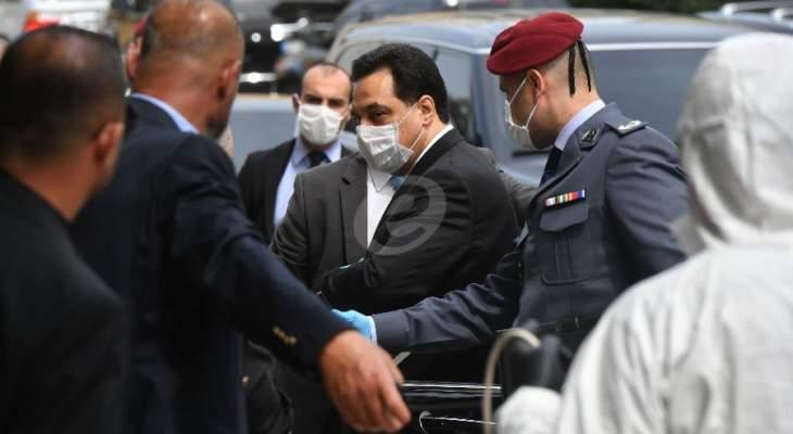 لبنان:دياب يفتح الحساب