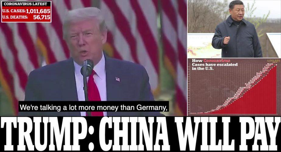 """صحف اليوم 28.04.2020 """"مليار"""" شخص سيصابون بوباء كورونا وترامب سيطالب الصين ب160 مليار تعويضات"""