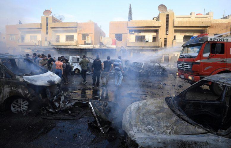 تفجير إرهابي بعفرين السورية يخلف أكثر من 40 قتيلاً وعشرات الجرحى والمحترقين