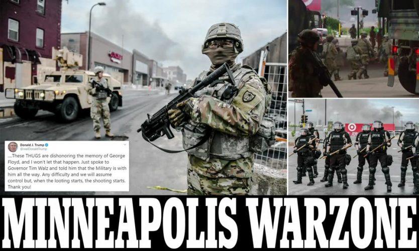 """تقييد واعتقال مراسل CNN و11 وفاة أشعلت احتجاجات ضد """"وحشية"""" الشرطة الأمريكية بسبب جورج فلويد"""