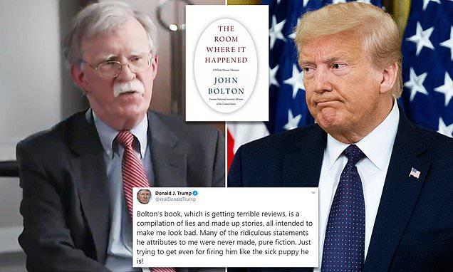 """بعدما انفجرت قنبلة بولتون""""الأحمق"""" مع كتاب """"مليء بالأكاذيب"""" هل تنهي شظاياها أسطورة ترامب الذي ليس """"لائقاً للمنصب"""" وليس لديه """"الكفاءة""""ولا يُقهر؟"""