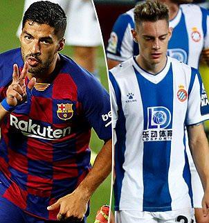 البرشا برشلونة يطيح بجاره إسبانيول من الليغا ويحتفظ ببصيص أمل,فياريال يعزز مركزه الخامس بالفوز  وانتصار بيتيس ,ليفربول يواصل عروضه القوية بفوز 3-1 امام برايتون