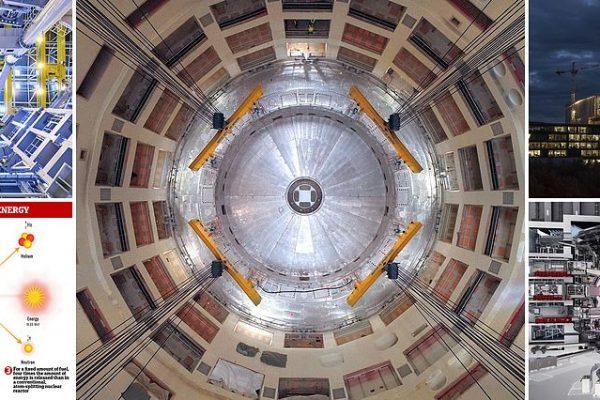 """مشروع للانصهار النووي في العالم لتكرير اشعة الشمس لإنشاء """"طاقة نظيفة آمنة ولا تنضب"""""""""""